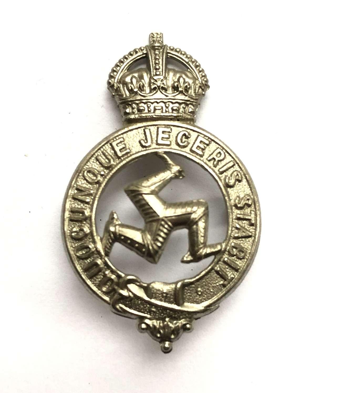 Isle of Man WW2 Home Guard cap badge