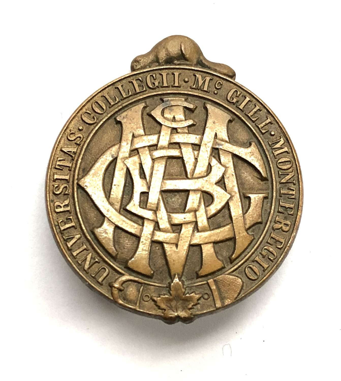 Canada MacGuill University Contingent (PPCLI reinforcements)cap badge