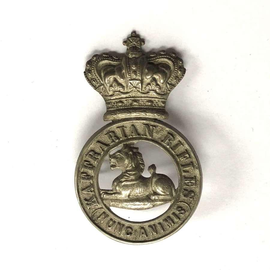 South Africa. Kaffrarian Rifles Victorian glengarry badge