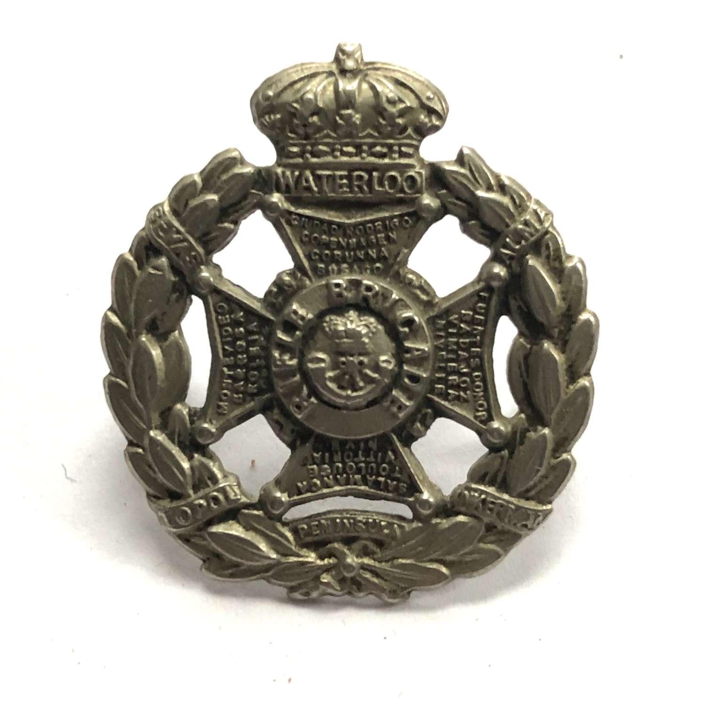 Rifle Brigade Victorian Field Service cap badge