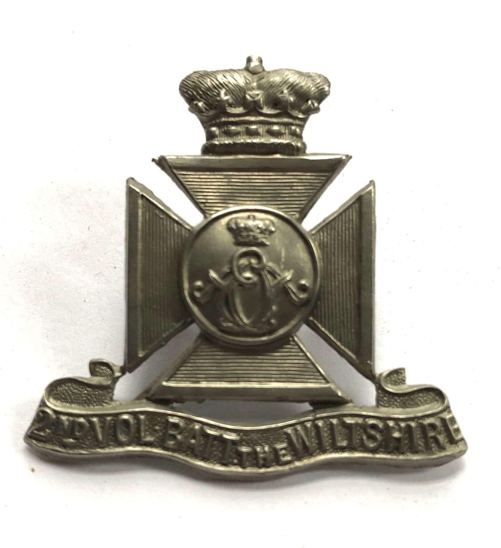2nd (Chippenham) VB Wiltshire Regiment cap badge circa 1896-1908