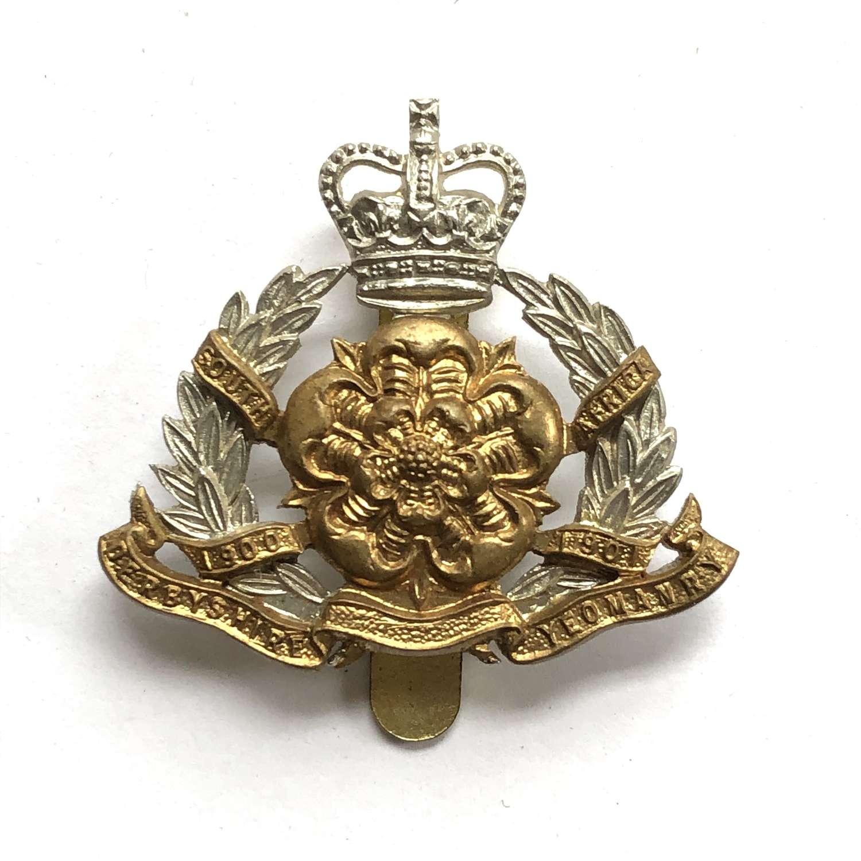 Derbyshire Yeomanry  cap badge circa 1953-57