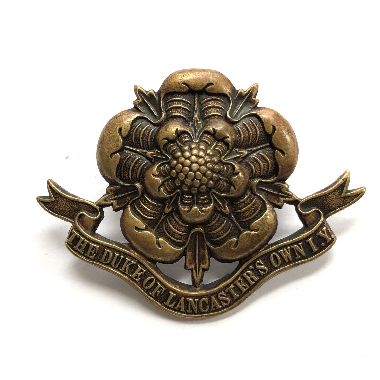 Duke of Lancaster's Own Imperial Yeomary pre 1908 cap badge