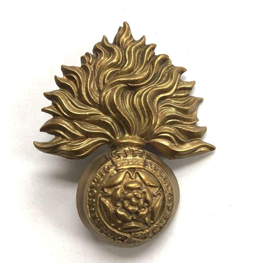 Royal Fusiliers Victorian cap badge circa 1896-1901