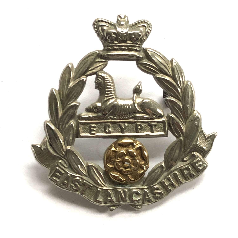 East Lancashire Regiment Victorian cap badge circa 1896-1901