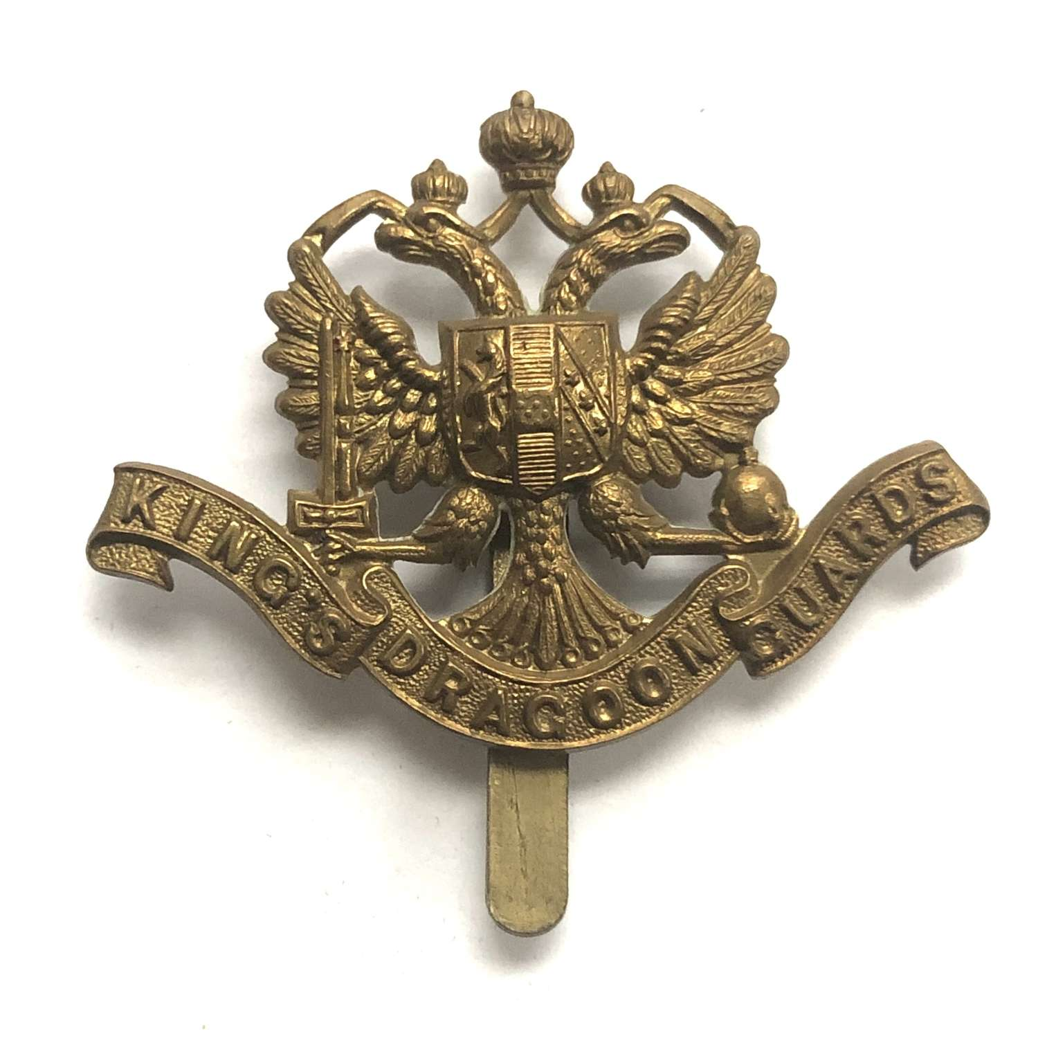 1st King's Dragoon Guards cap badge circa 1896-1915