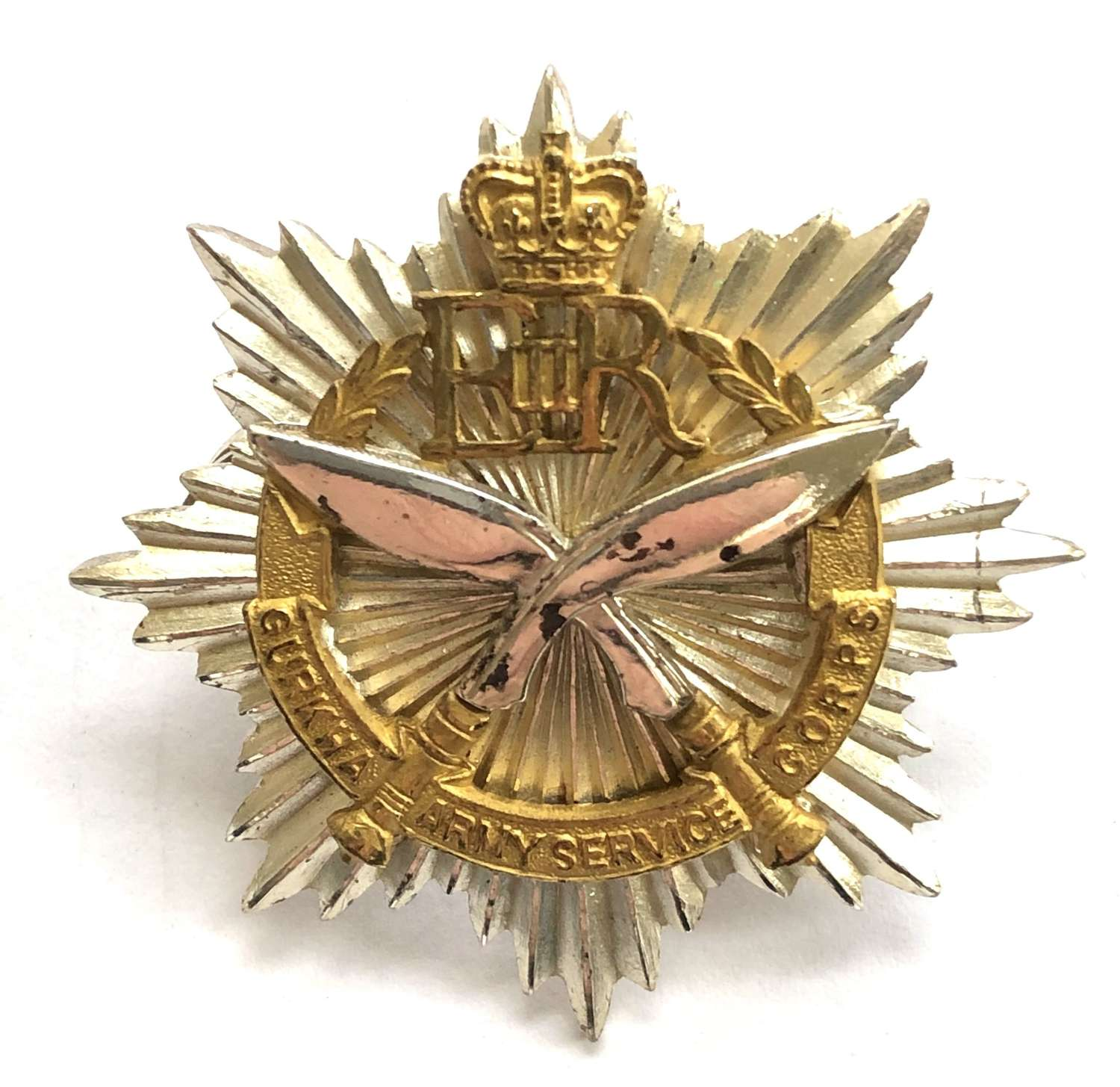 Gurkha Army Service Corps Officer's pouch badge circa 1958-65