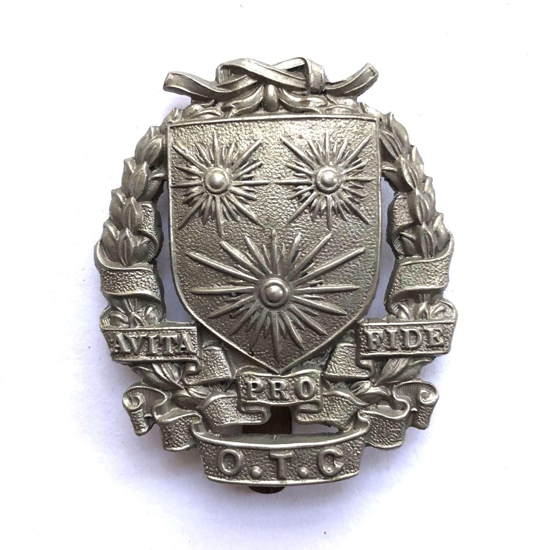 St. Edmund's School OTC, Ware cap badge
