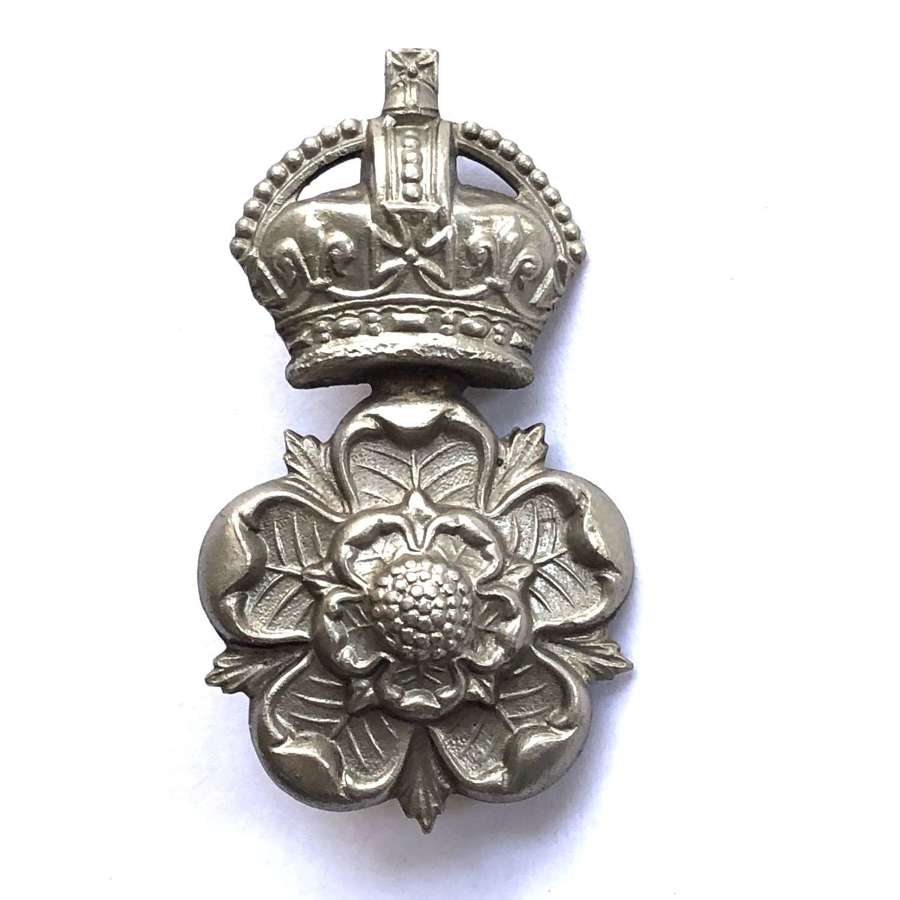Queen's Own Yorkshire Dragoons post 1901 NCO's arm badge