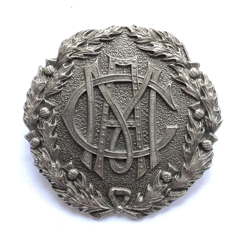 Scottish. Morrison's Academy, OTC Edinburgh 1st pattern badge