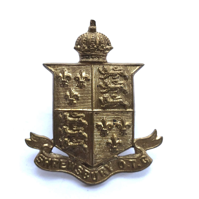 Shrewsbury School OTC cap badge