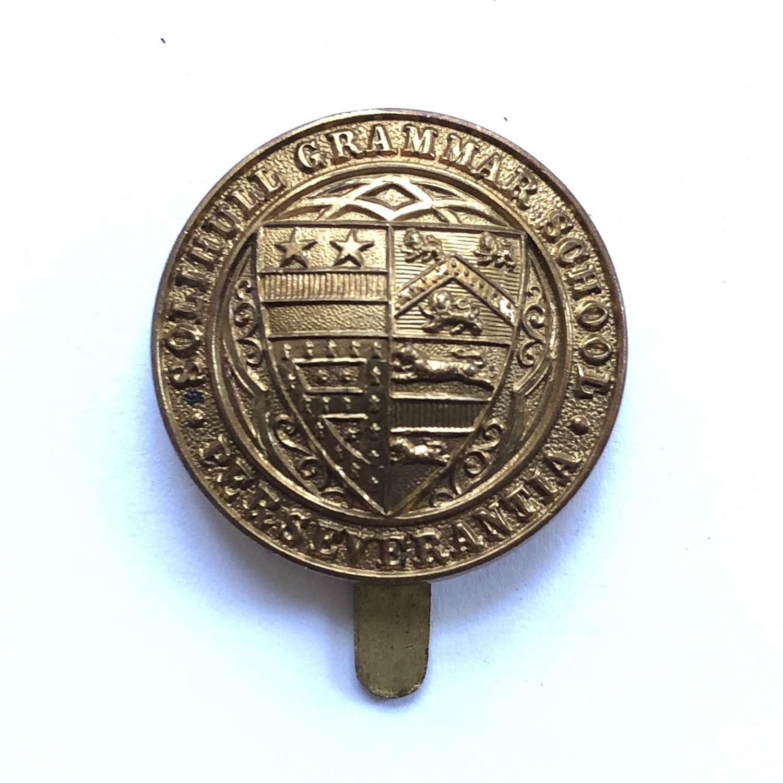 Solihull Grammar School OTC 1st pattern cap badge