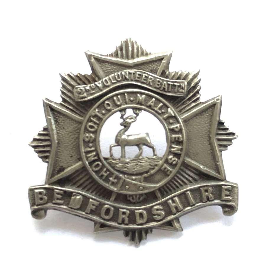 2nd (Hemel Helpstead) VB Bedfordshire Regiment pre 1908 cap badge