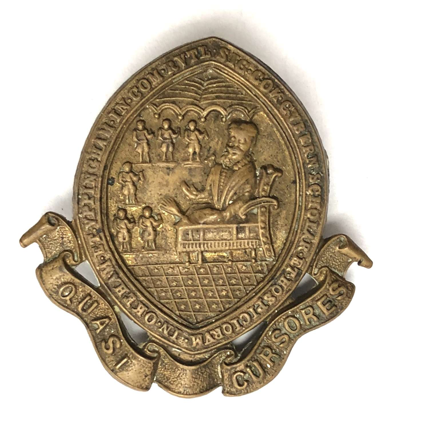 Oakham School OTC Rutland cap badge