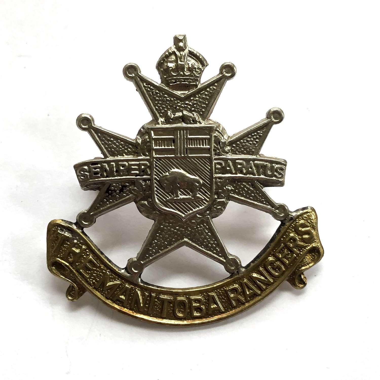Canadian Manitoba Rangers cap badge