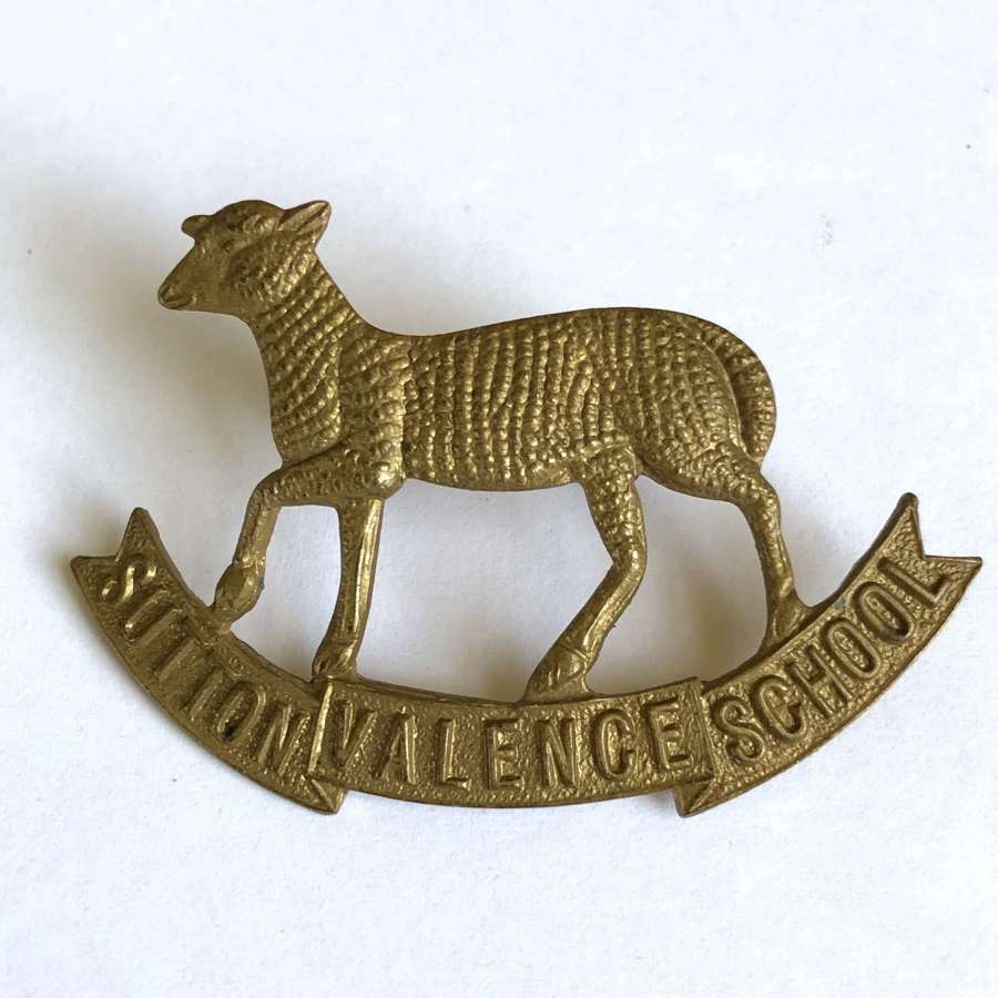 Sutton Valence School OTC Kent cap badge