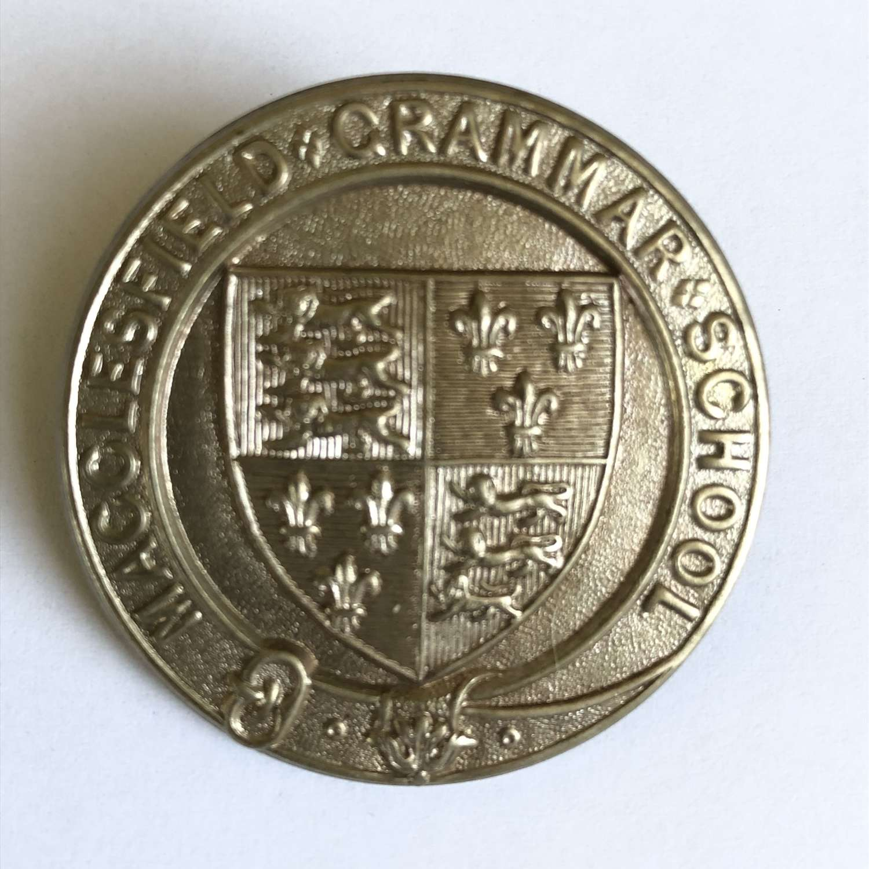Macclesfield Grammar School OTC cap badge