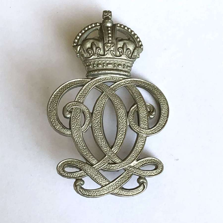 7th Queen's Own Hussars NCO's pre 1952 arm badge