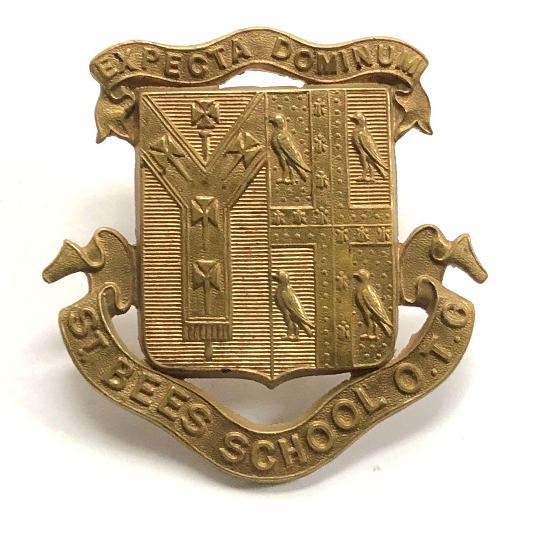 St. Bee's School OTC, Cumberland cap badge