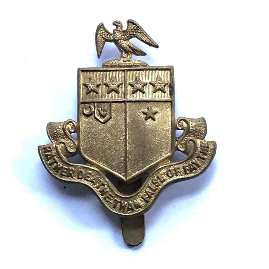 St. John's School OTC Leatherhead, Surrey 3rd pattern cap badge