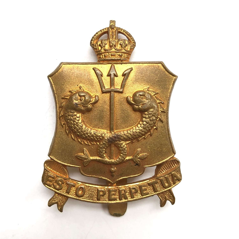 Royal Naval School, OTC cap badge circa 1908-10