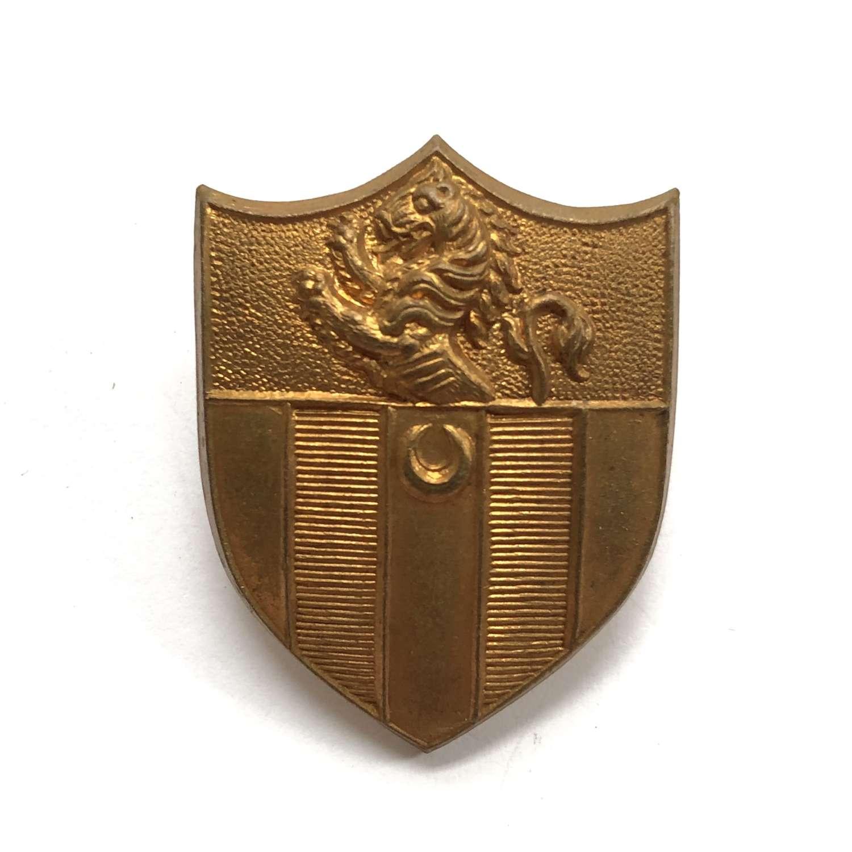 Sir Roger Manwood's School OTC, Sandwich, Kent cap badge