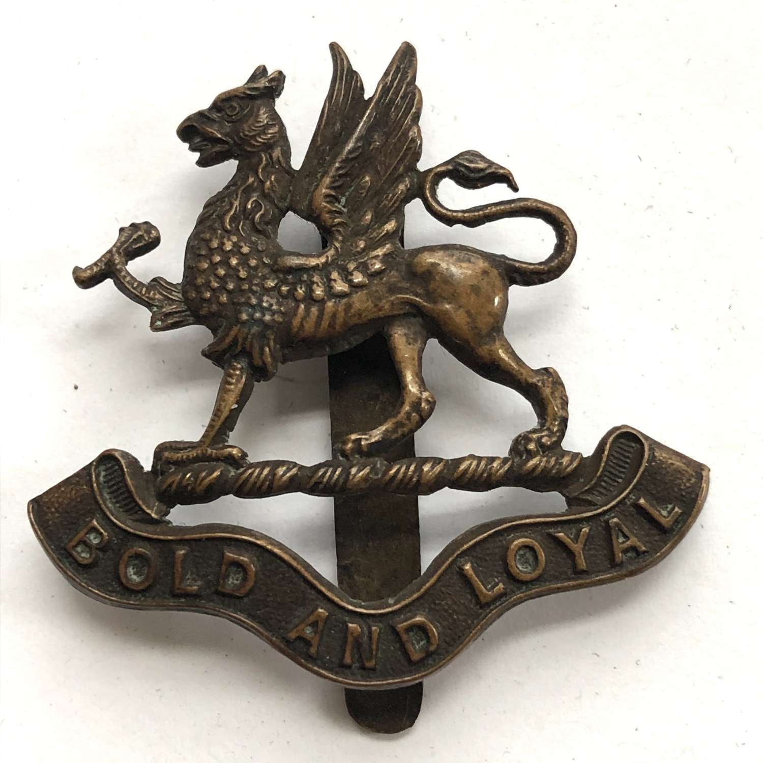 Wycliff College Cadet Corps Stonehouse, Gloucestershire cap badge
