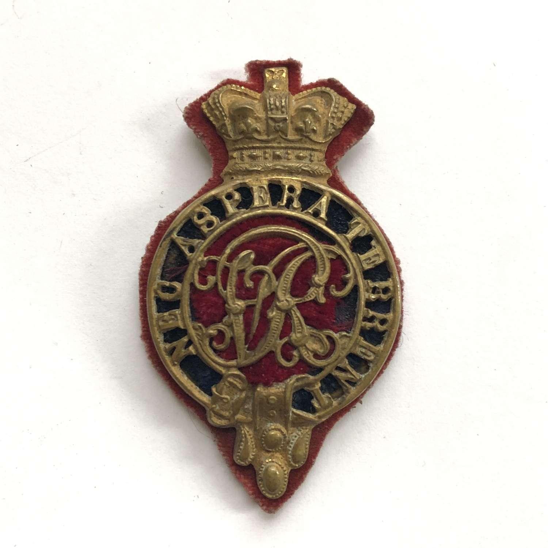 Royal Military College Sandhurst Victorian Gentleman Cadet's cap bad