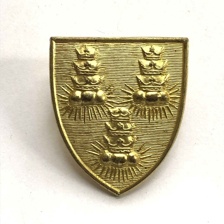Bancroft's School OTC Woodford Green, London cap badge