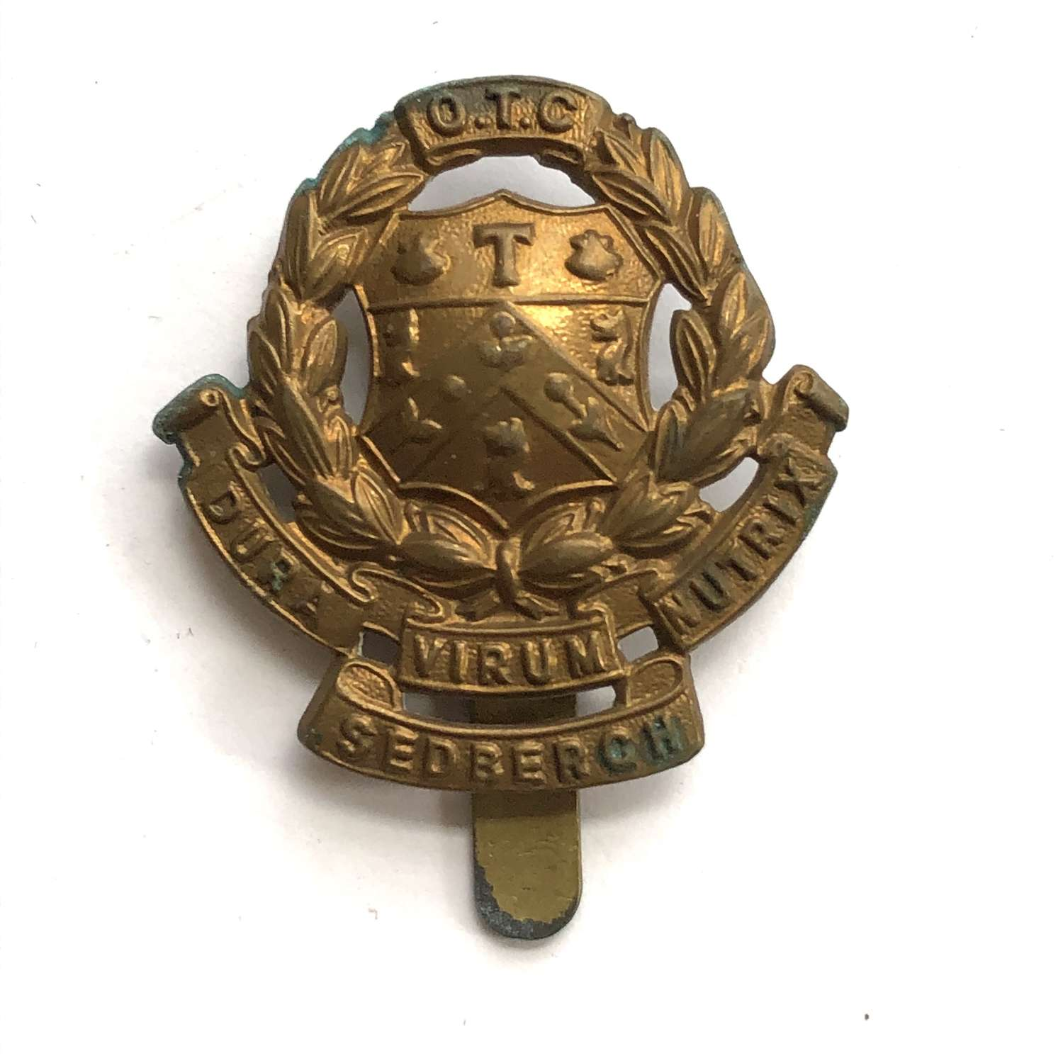 Sedburgh School OTC Yorkshire cap badge