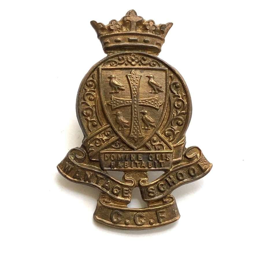 King Alfred's School CCF, Wantage cap badge