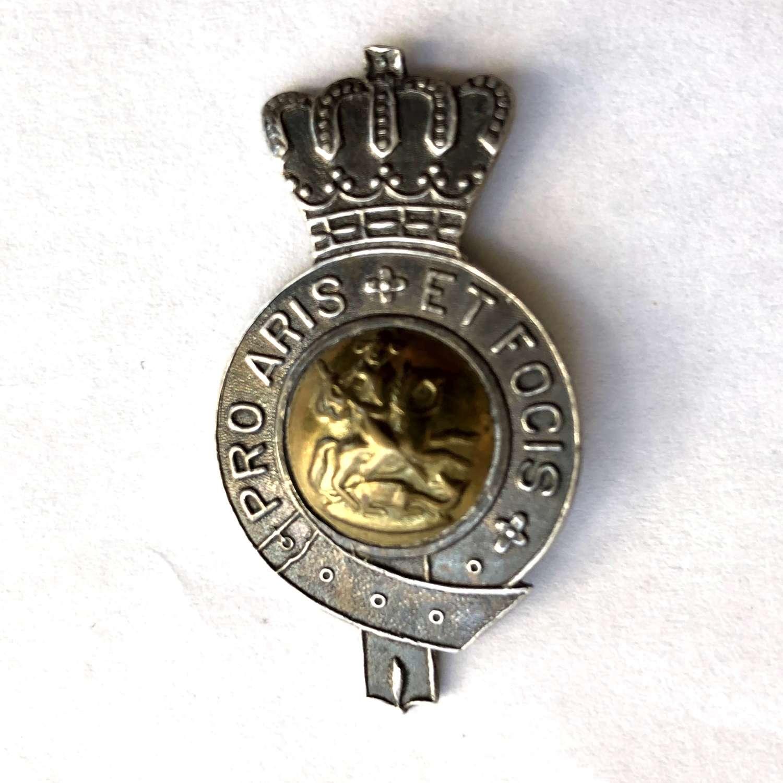 Shanghai Volunteer Corps Light Horse cap badge circa 1921-42