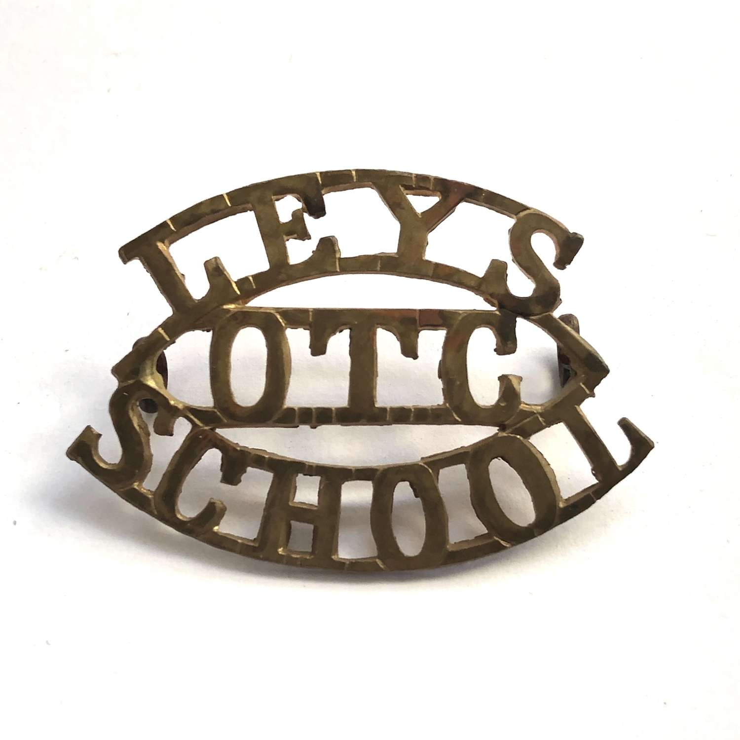 LEYS / OTC / SCHOOL Cambridgeshire shoulder title
