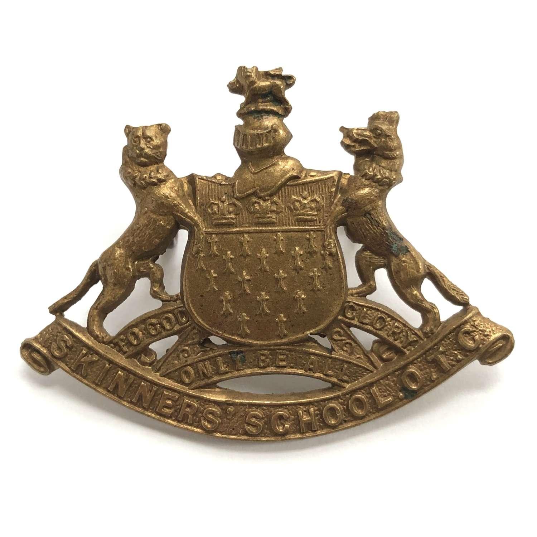Skinner's School OTC, Royal Tunbridge Well, Kent cap badge