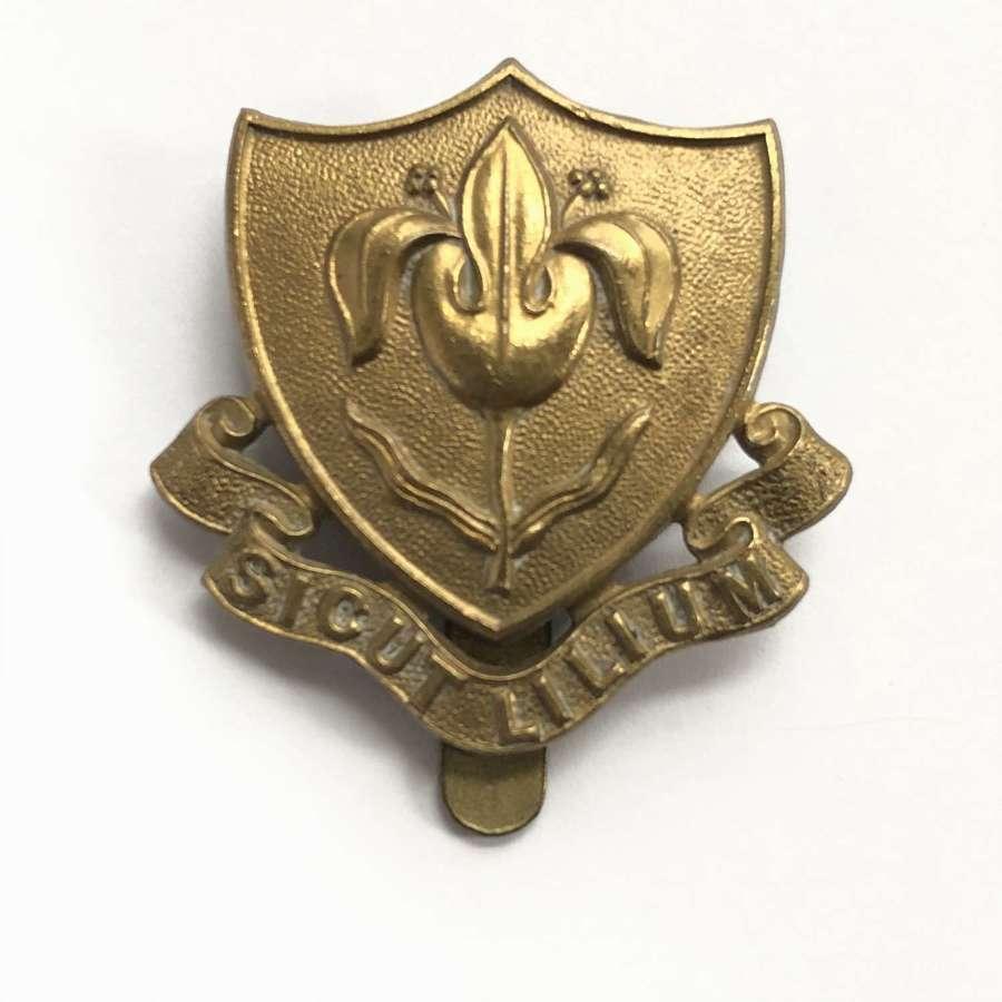 Magdalen College School OTC Oxford cap badge