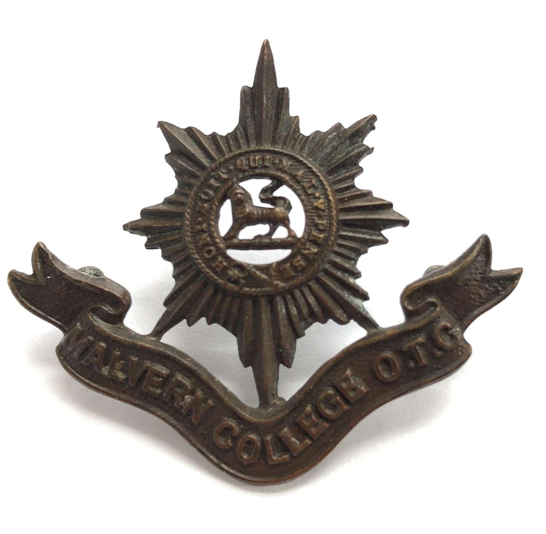 Malvern College OTC 1st pattern OSD cap badge