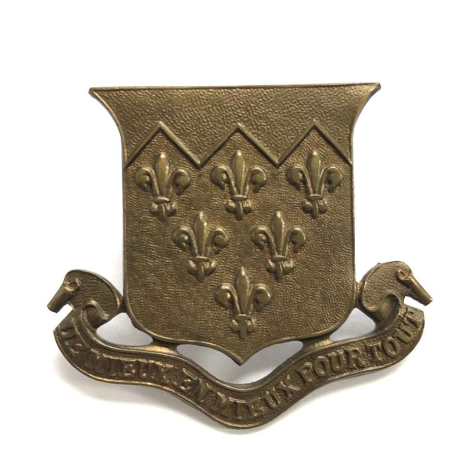 The Paston School OTC, Norfolk cap badge