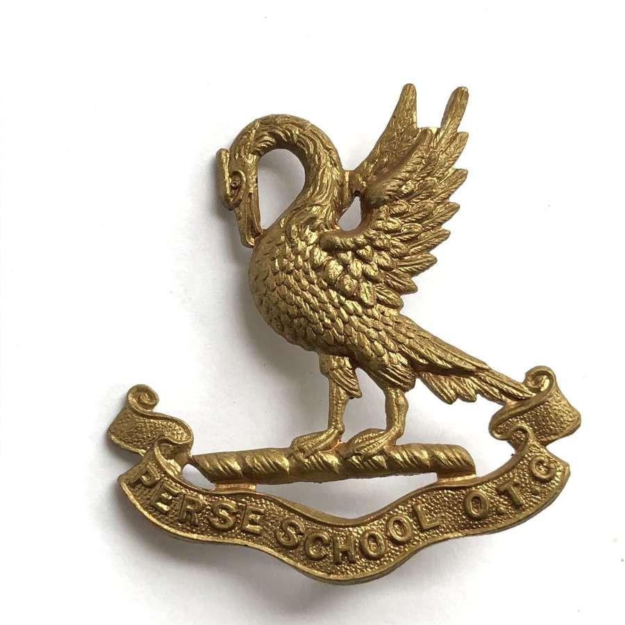 Perse School OTC, Cambridge cap badge