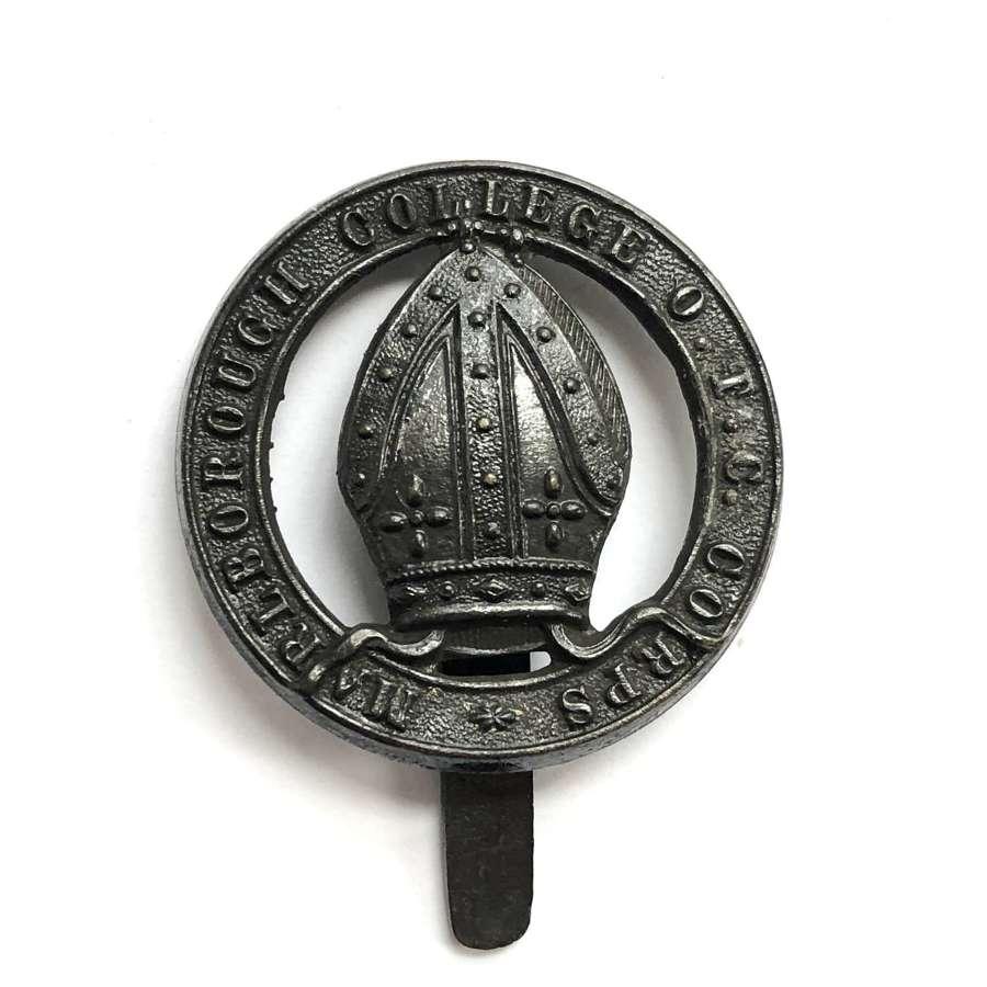 Marlborough College OTC Corps, Wiltshire post 1908 cap badge