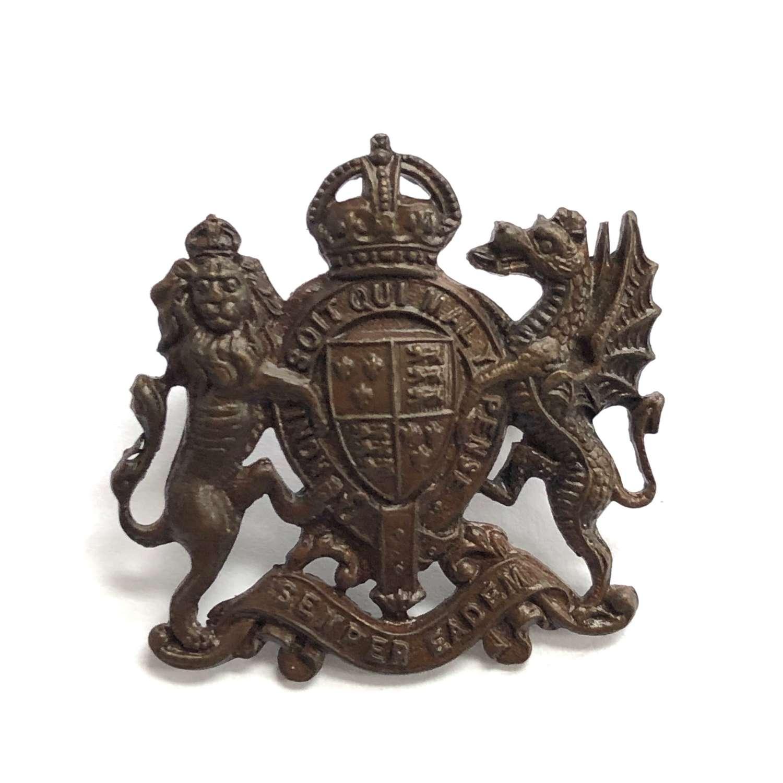 Elizabeth College OTC, Guernsey cap badge.