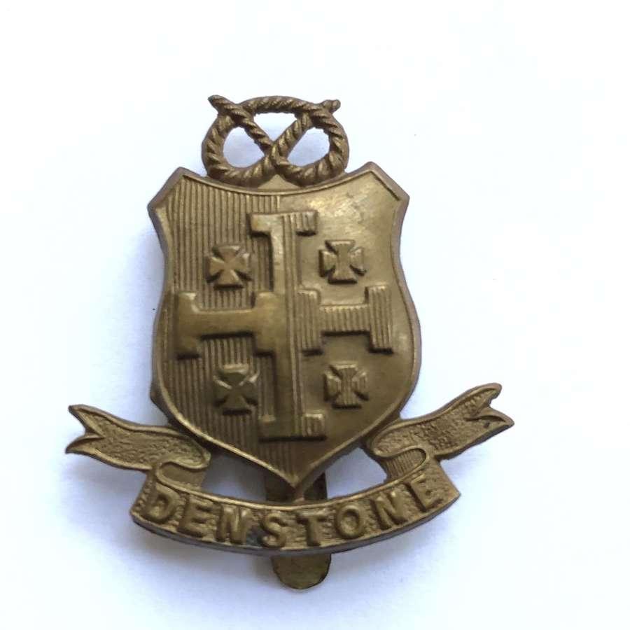 Denstone College OTC / CCF, Staffordshire post 1908 cap badge