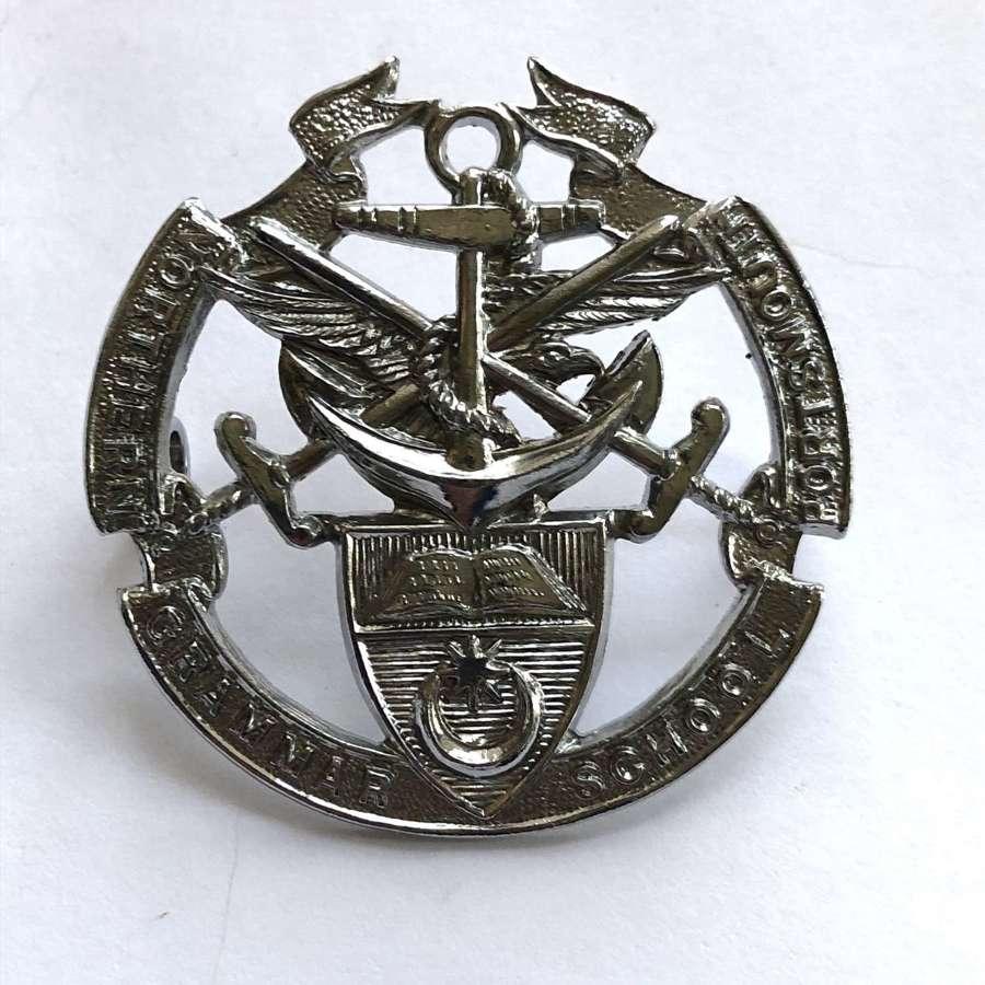 Portsmouth Northern Grammar School OTC / CCF Hampshire cap badge