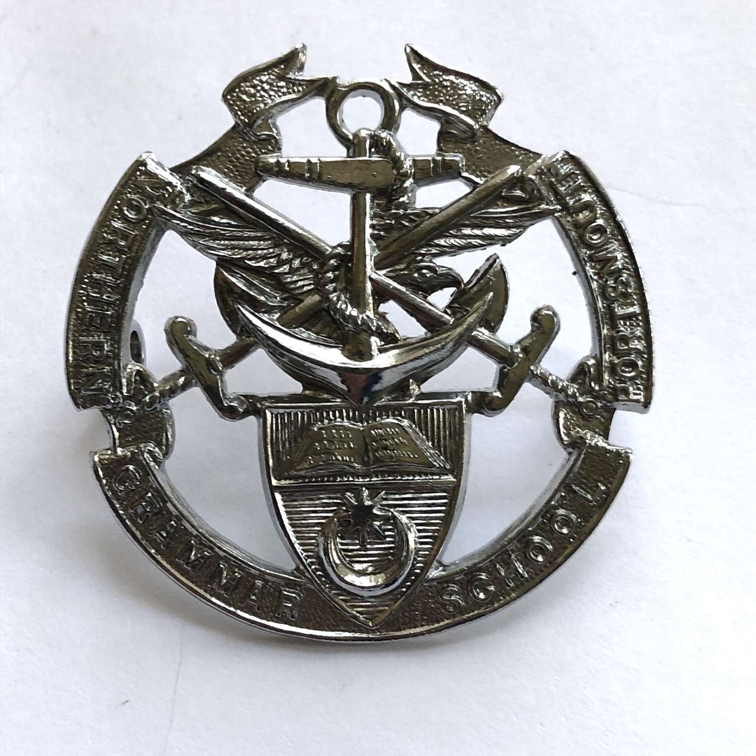 Portsmouth Northern Grammar School OTC / CCF Hampshire cap badge