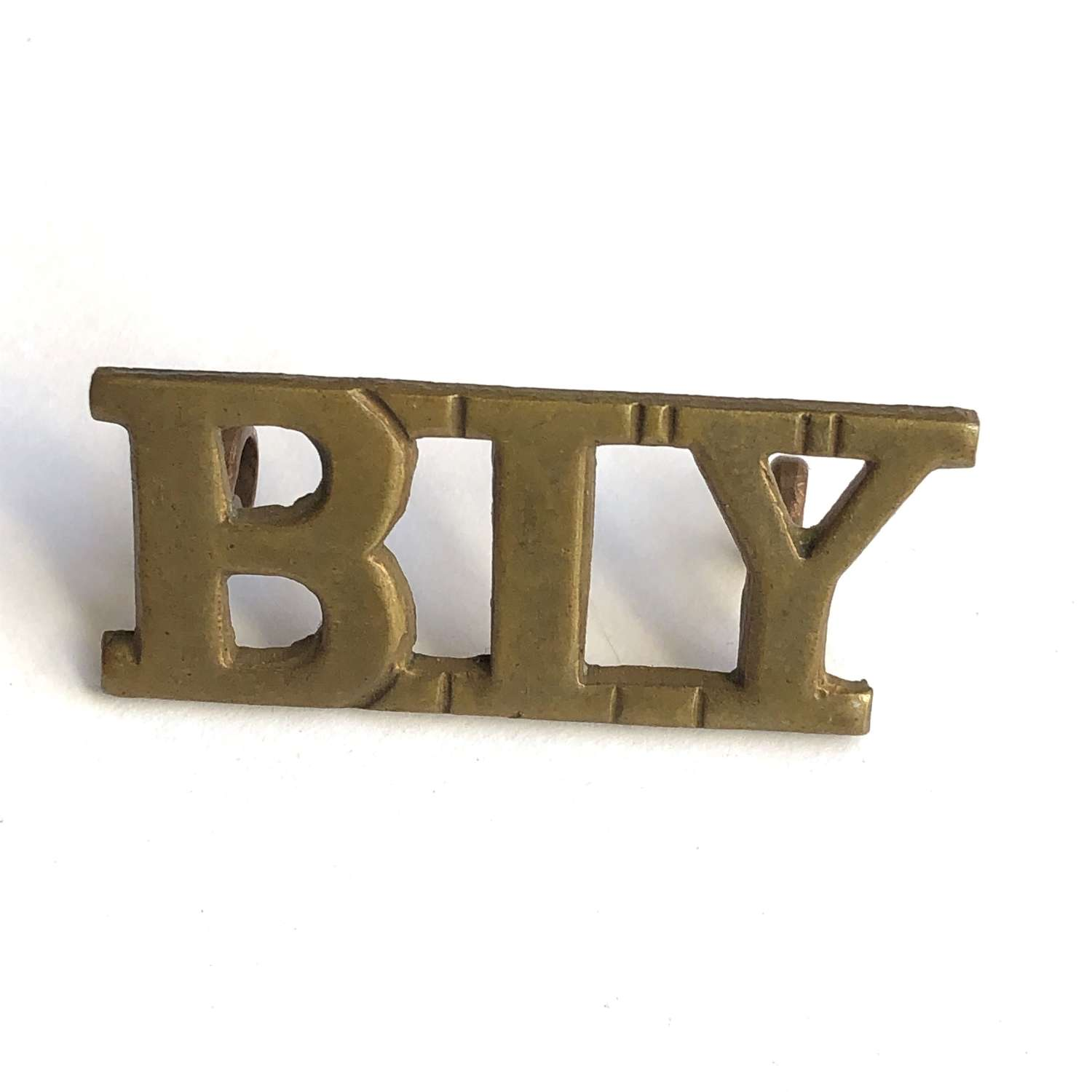 BIY Bedfordshire Imperial Yeomanry shoulder title by Lambourne