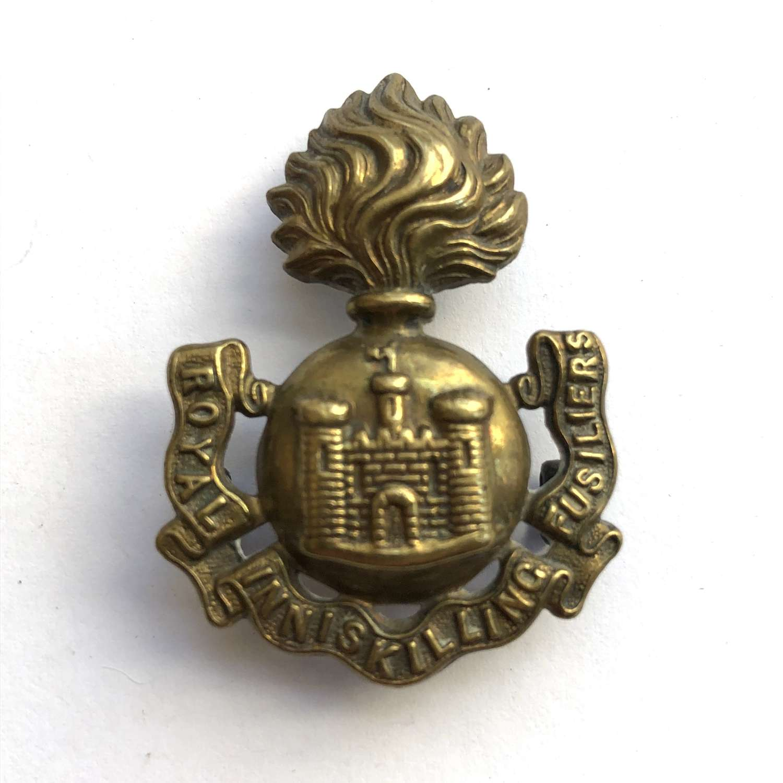 Irish. Royal Inniskilling Fusiliers Victorian shoulder title