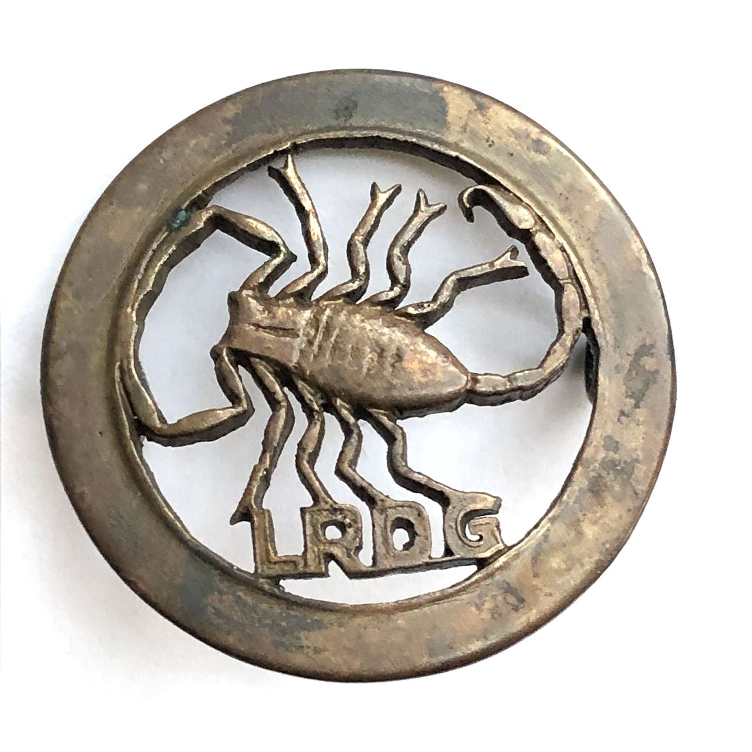 Long Range Desert Group WW2 LRDG Special Forces cap badge