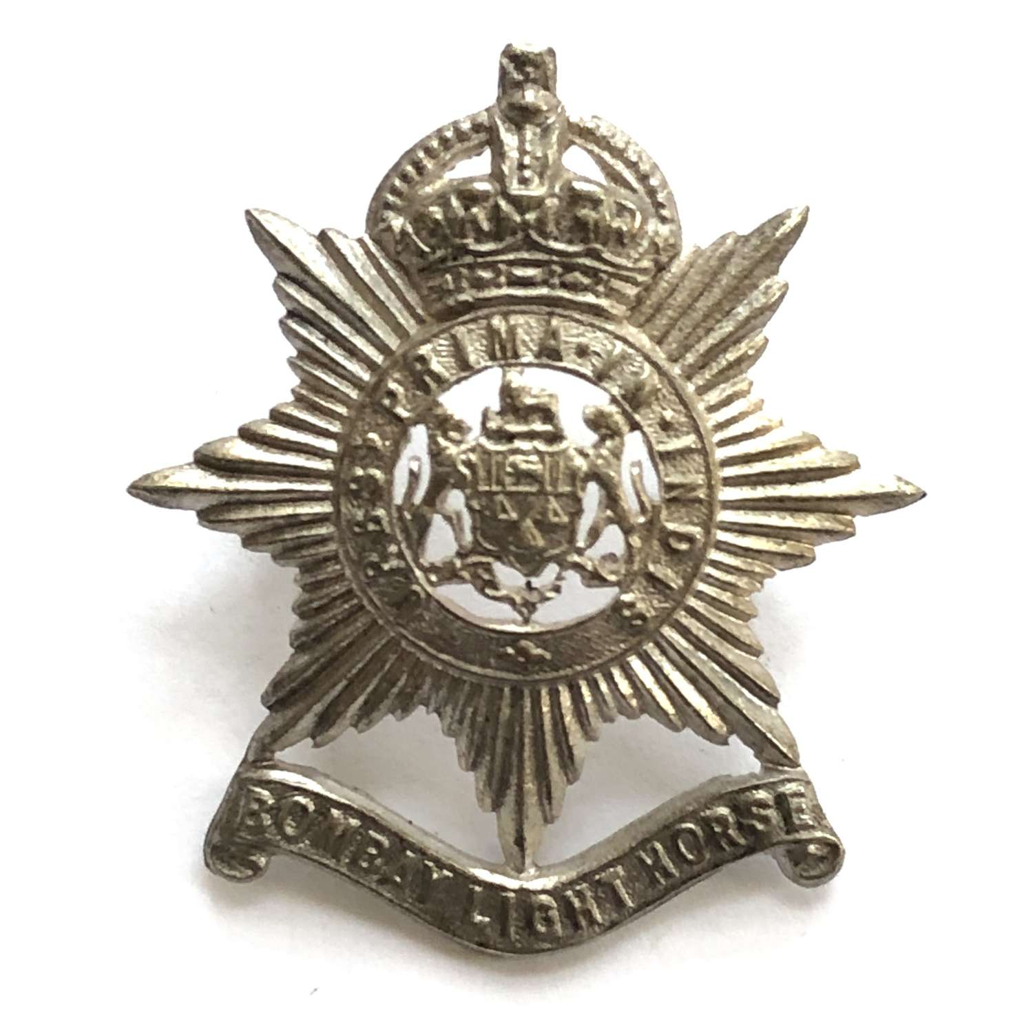 Indian Army. Bombay Light Horse cap badge circa 1901-33.
