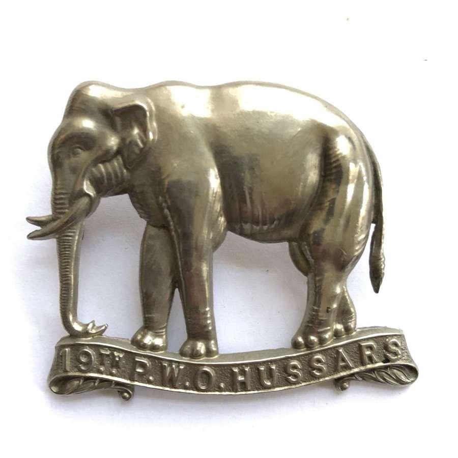 19th Princess of Wales's Own Hussars cap badge circa 1898-1902