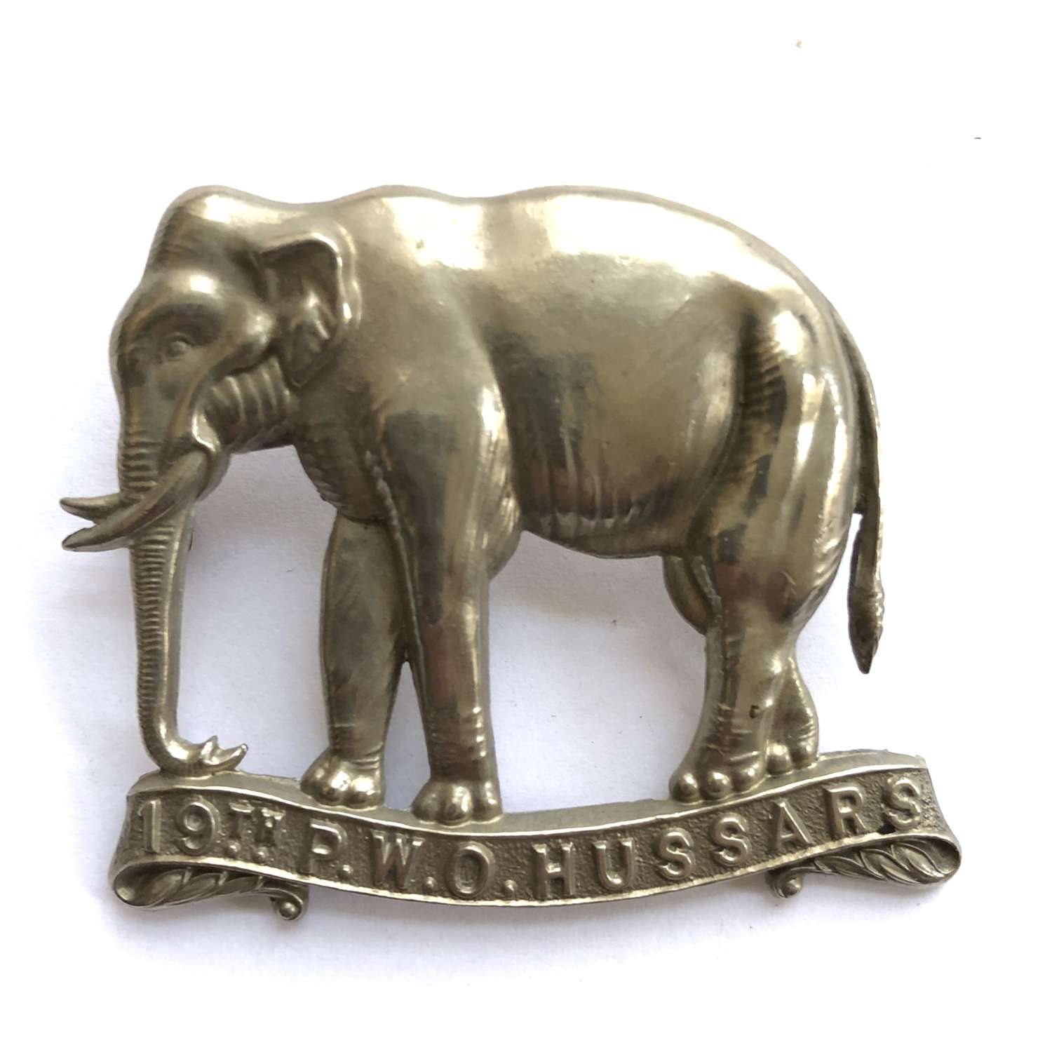 19th Princess of Wales's Own Hussars cap badge circa 1898-1902