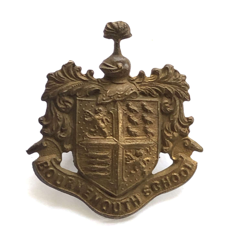 Bournemouth School OTC Hampshire cap badge circa 1908-40